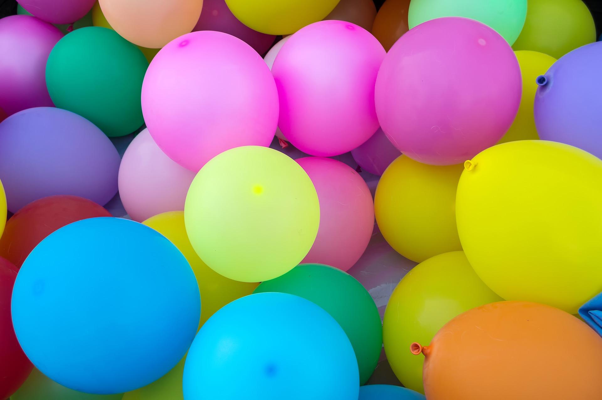 Luftballons mit Helium für Partys auf gutshausblog.de
