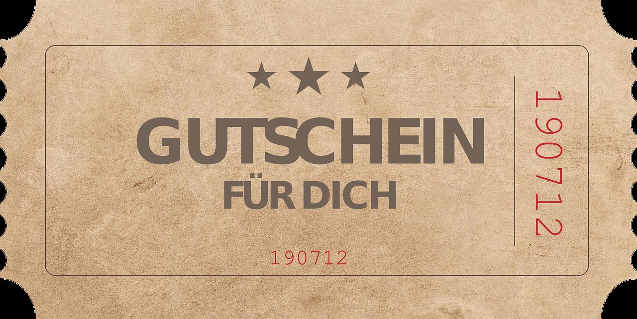 Auf schöne, ansprechende Weise Gutscheine verpacken auf gutshausblog.de