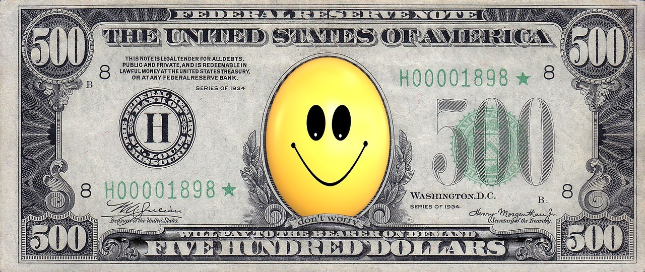 Zusammenhang zwischen Geld und Glück auf gutshausblog.de